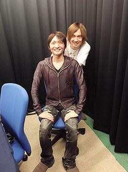 Suzuki Tatsuhisa & Shimazaki Nobunaga (Free! Iwatobi Channel)