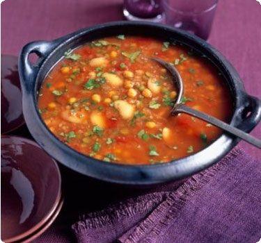 Постный суп с фасолью - очень вкусный греческий рецепт Фасолады с чесноком
