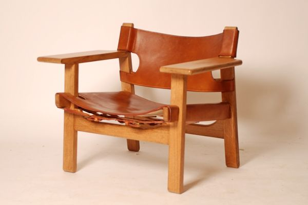 Børge Mogensen The spanish chair Produced by Fredericia Furniture.