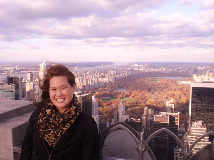 Central Park view from Top of the Rock! #PotentialistCanada