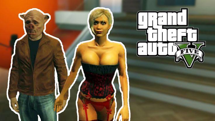 GTA ONLINE - Explodindo Strippers! (GTA 5 Online Gameplay)