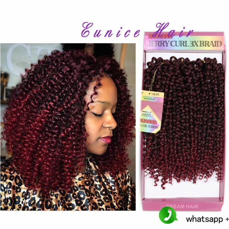 36 best synthetic jerry curly hair images on pinterest hair 10inch freetress deep twist 3bundles jerry curly hair for crochet braids pmusecretfo Images