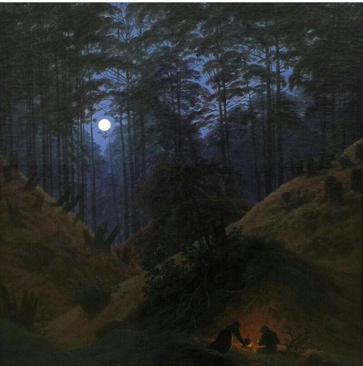 caspar david friedrich forest