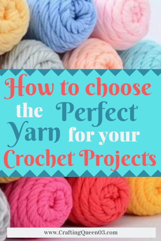 Como escolher o fio perfeito para seus projetos de crochê