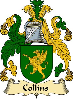 Collins Family Crest and History