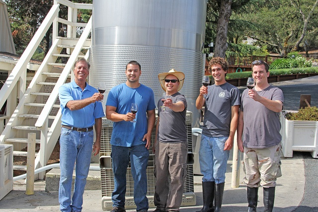 Armida Winery's First Day of Harvest 2012.