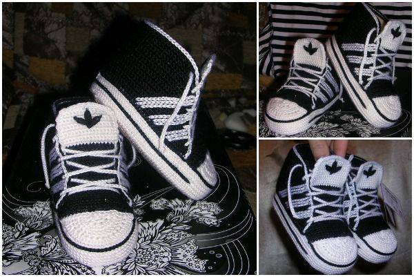 We have featured ways to crochet Nike inspired booties and sneakers days ago. We yarn lovers do adore the design, great for Spring sporting days. Here is the Adidas version of crochet sneakers, you can use the pattern of Nike ones and add Adidas embellishments instead. The high top sneakers …