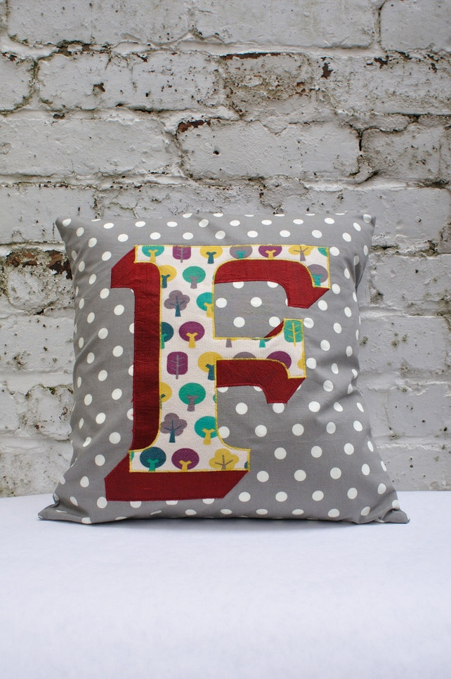 Beautiful Letter F Cushion £23.00