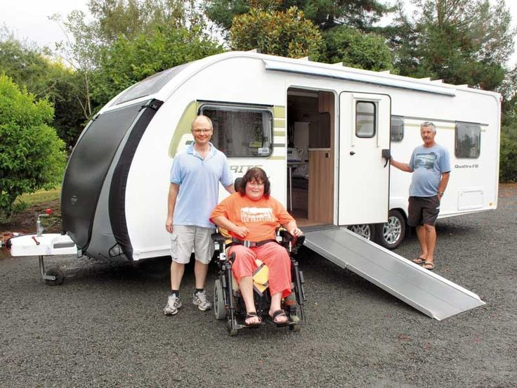 Fully kitted-out to cater for a couple's disability requirements, this impressive caravan has enjoyed many helping hands to get it on the road.  There's a certain freedom to camping that perhaps many take for granted. For Pam and Malcolm, their customised Sprite Quattro FB caravan represents more than just the opportunity to holiday, but a freedom from the constraints of living with a severe disability.