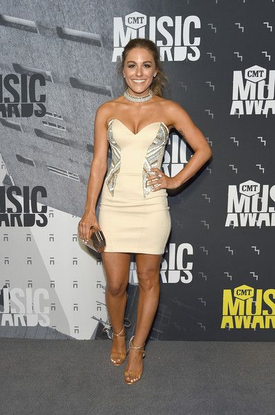 Musical artist Tara Thompson attends the 2017 CMT Music awards at the Music City Center on June 7, 2017 in Nashville, Tennessee.