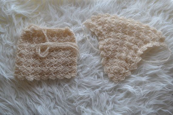 Newborn Set Baby Set Newborn Skirt Newborn by knitbabyclothes, $43.00