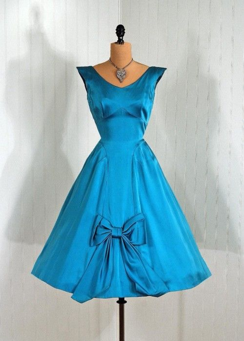 Dress,1950s, Timeless Vixen Vintage  Love the color!!!