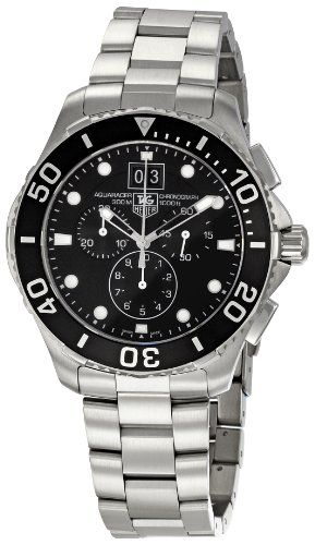 TAG Heuer Men's CAN1010BA0821 Aquaracer Chronograph Watch    Love my wedding gift from my wife!