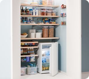 A well organised pantry/kitchen is a must for me.