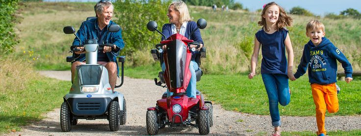 Elektrické vozíky a skútre NIE LEN pre seniorov