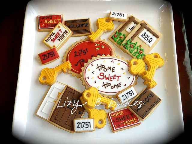 gallery of new home themed cookies   Recent Photos The Commons Getty Collection Galleries World Map App ...