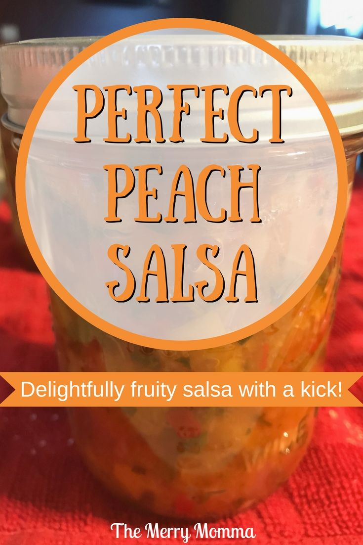 This peach salsa is the perfect blend of spicy and sweet. If you love fruit salsas, or you're ready for something new, this is a recipe you'll want to try!