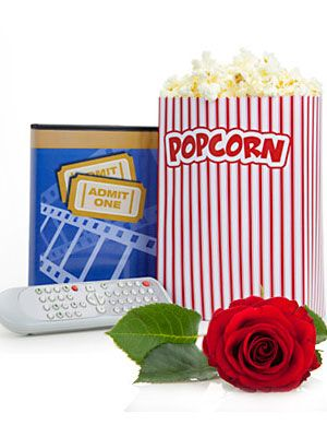 valentine's day movie gift baskets