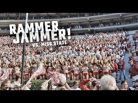 Watch Alabama fans sing Rammer Jammer after blowout win over Mississippi State | AL.com