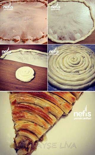 Nefis yemek tarifleri -Çarşaf böreği