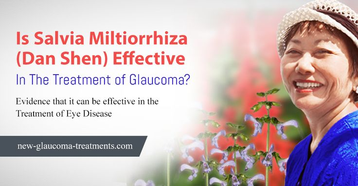 The only study performed on humans using Salvia #miltiorrhiza as a treatment of #glaucoma used intramuscular injections of Salvia miltiorrhiza. In this study vision seemed to improve and visual fields appeared to stabilize. Read more: http://new-glaucoma-treatments.com/is-salvia-miltiorrhiza-dan-shen-effective-in-the-treatment-of-glaucoma/