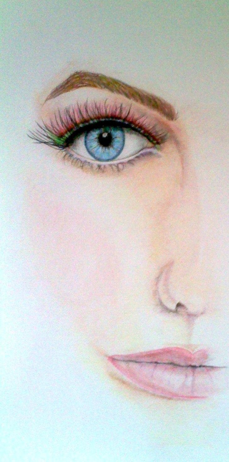 just a study, color pencils