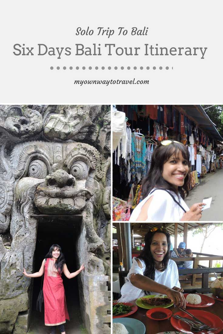 Solo Trip To Bali - Six days Bali tour itinerary to explore the best in Bali, Indonesia. #bali #indonesia #balidaily #balitour #baliitinerary #visitbali #solotravel