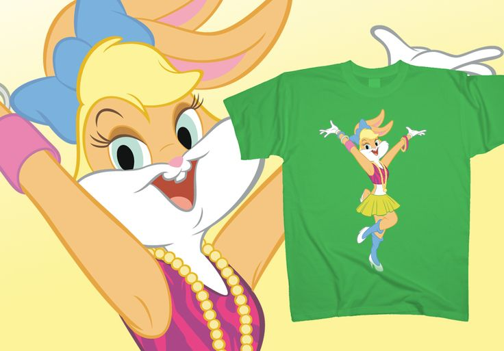 Like a #Lola / worn for the very first time / Like a Lola / when her smile shines, next to yours. Not even #Madonna could have said it better... And even she, hasn't clicked on http://www.toonshirts.com/products/looney-tunes/150-lola-bunny-madonna yet...