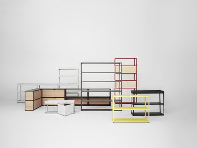 Bibliothèque New Order / L 100 x H 215 cm - Hay