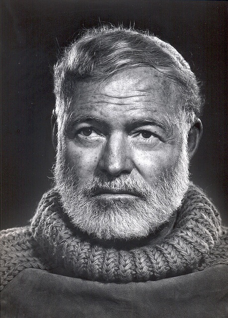 A man of many words a ernest miller hemingway story