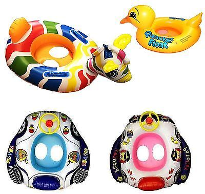 Kids baby inflatable pool swim #float boat ring seat #swimming aid with #wheel ho,  View more on the LINK: 	http://www.zeppy.io/product/gb/2/331315693056/