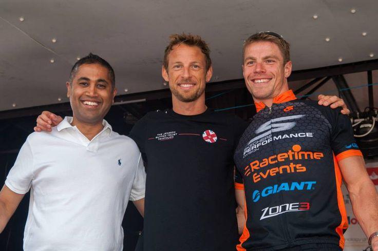 Jenson Button Trust Triathlon 2015 Prize Giving