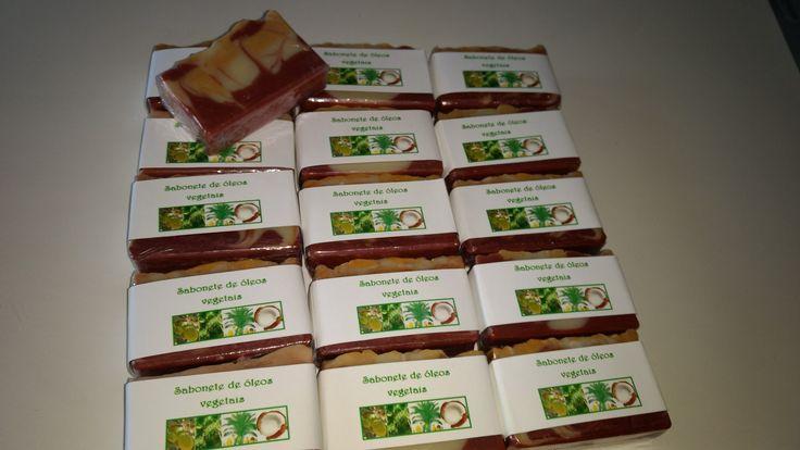 Sabonete cold process 4oleos nfartesanatos by Neuza Froes