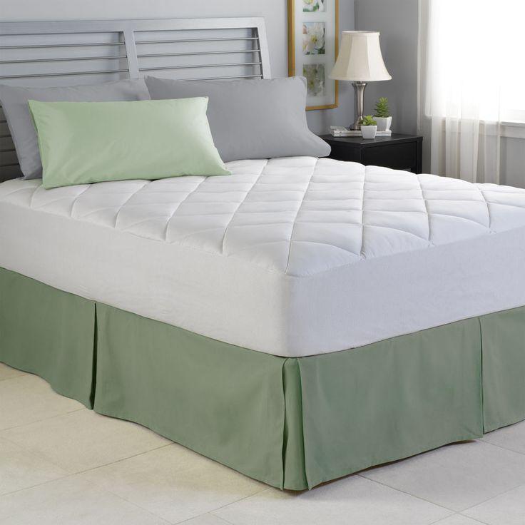 spring air illuna ultra plush comfort mattress pad to 22 inches deep