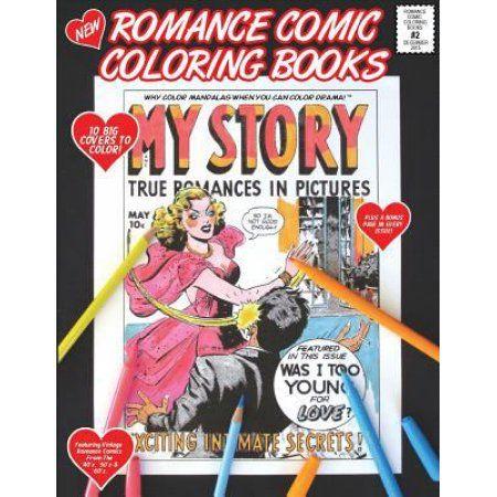 Romance Comic Coloring Book #2