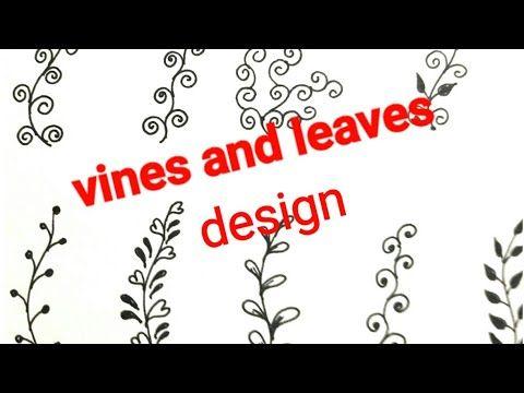 Basic steps of mehndi design class-15 creativity tips for beginners tutorial - YouTube