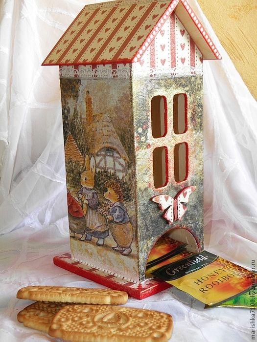 чайный домик из картона (6) (525x700, 350Kb)