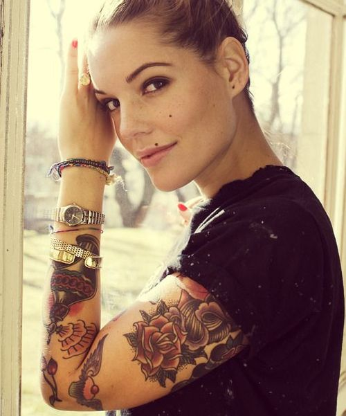 Cool full arm tattoo designs for girls full arm tattoos style and girls - Cool designs for girls ...