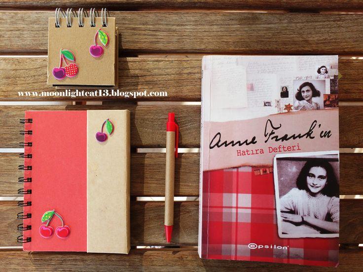 moonlightcat13: Anne Frank'ın Hatıra Defteri - Anne Frank * Güz Ok...