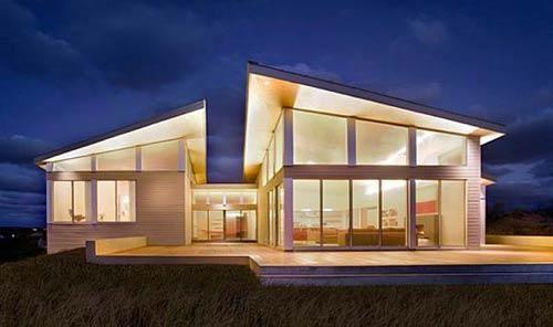 Modern house on the beach | HomCozy