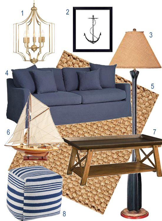 nautical coastal new england decor