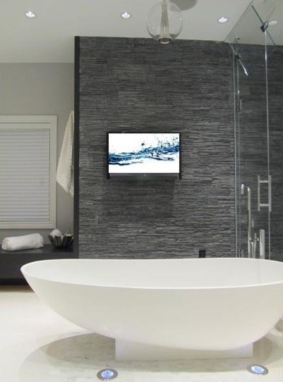 Bathroom Slate Tile Design, Pictures, Remodel, Decor and Ideas