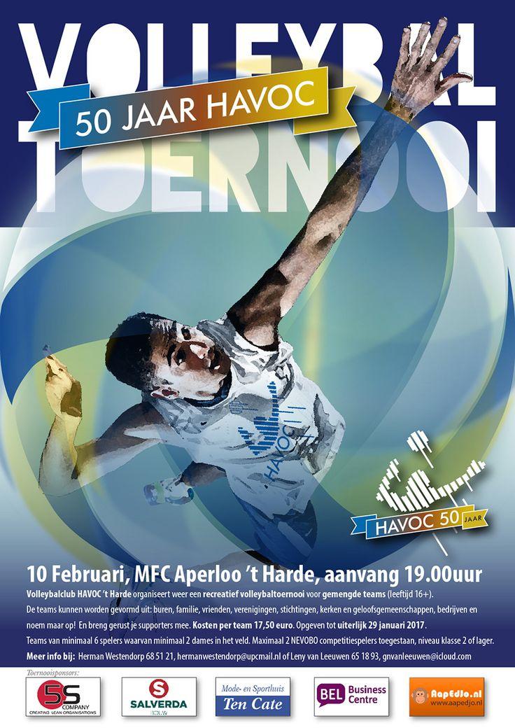 Volleybal Toernooi HAVOC 50 jaar