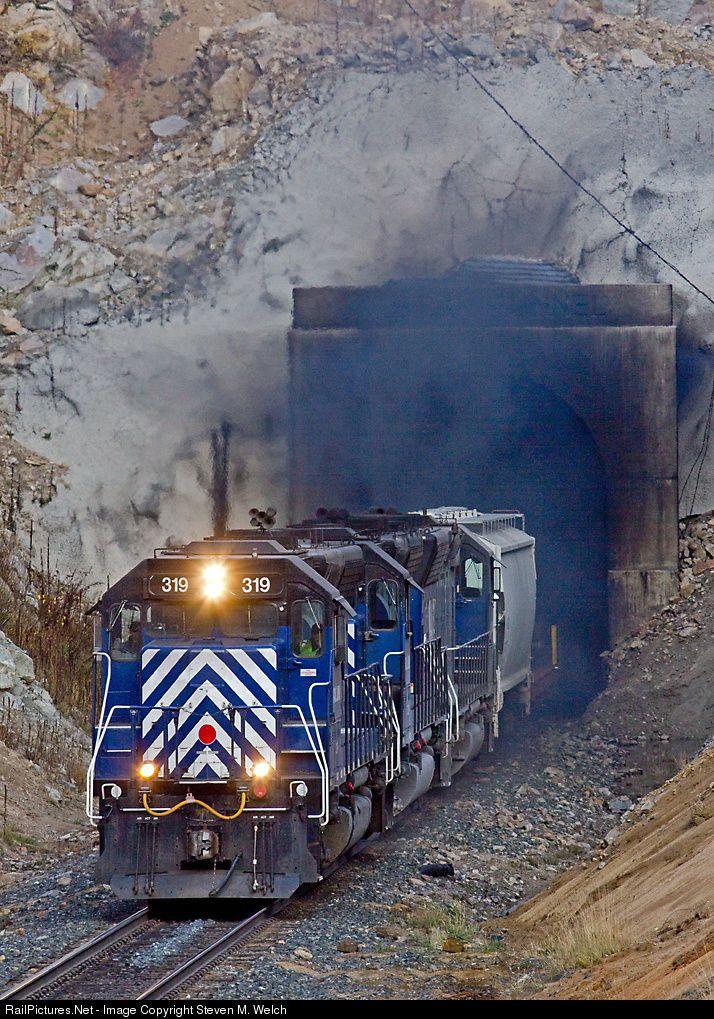 RailPictures.Net Photo: MRL 319 Montana Rail Link EMD SD45 at Blossburg, Montana by Steven M. Welch