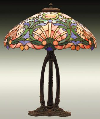 Old Tiffany Lamp Values | ... antique dealers, ebay and toy shows Antique Tiffany Lamps appraisal