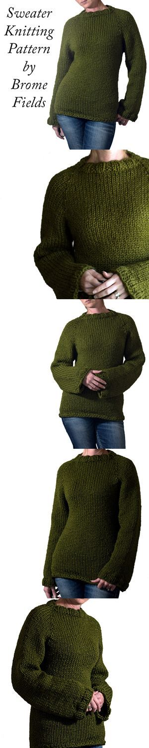 Quick & Easy Sweater Knitting Pattern!