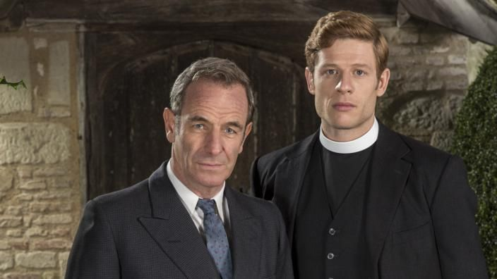 """James Norton and Robson Green in """"Grantchester"""" (Photo: ITV)"""