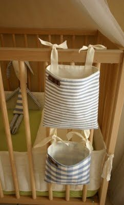 I like these - I can think of so many uses for them, ie on a curtain rod for my crafty stuff, it'd finally be out of Cash's reach!