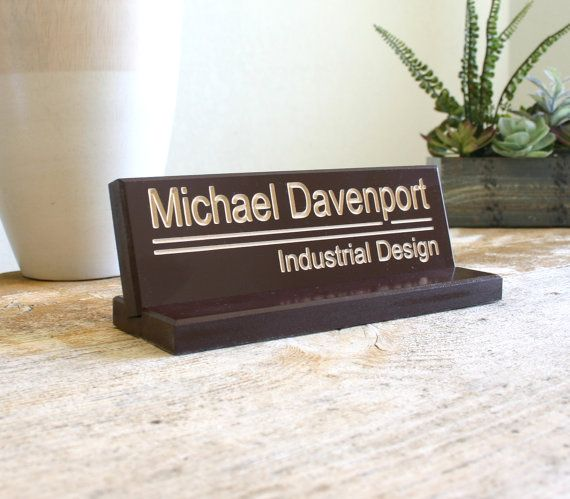 13 Best Desk Name Plates Images On Pinterest