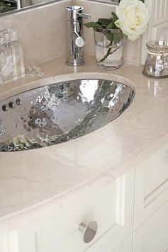 Hammered Silver Bathroom Sink My Web Value